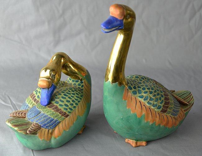 Japanese geese