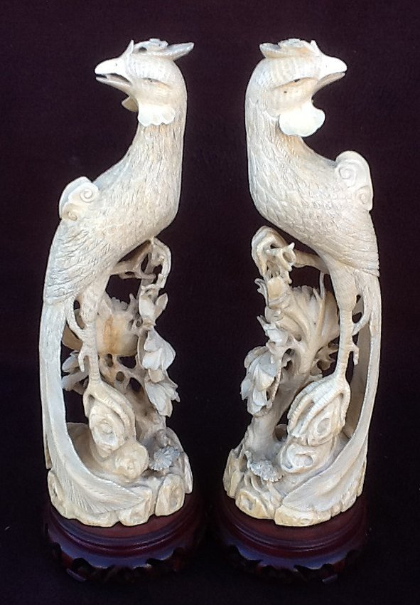 Pair Ivory Phoenix with Base