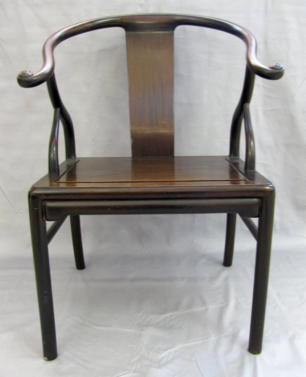 Ming Dynastic Style Amred Chair