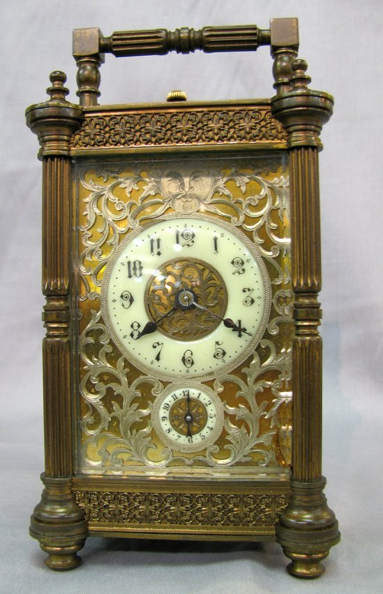 Renaissance Style Clock