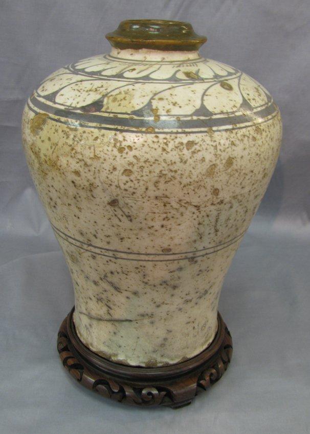 Yuan Dynastic Style Plum Pot