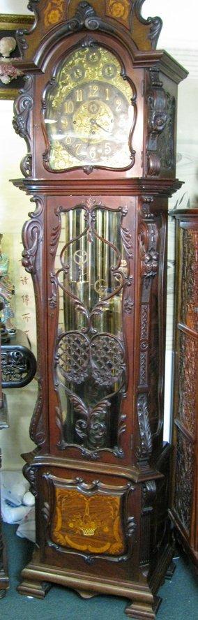 Antique Renaissance Style Floor Clock