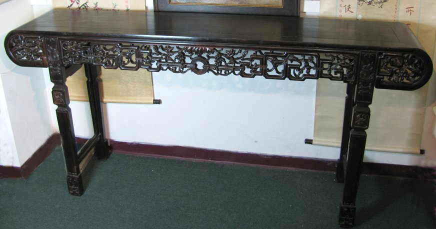 Antique Rosewood Altar Table