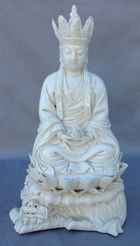 White Dizang Buddha