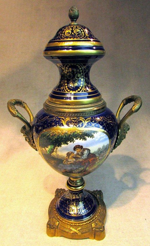 A 19th C. Continental Porcelain Urn