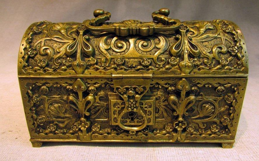 A 19th C. Venetian's Jewelry Box