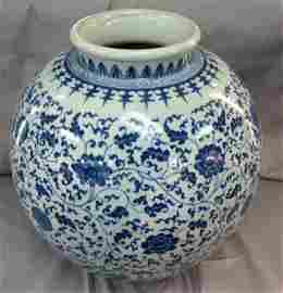Qing QienLong Style Qinghua Jar