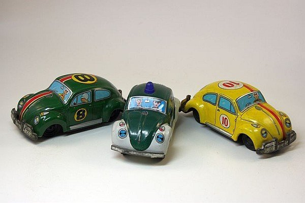 3x VW Käfer, Japan
