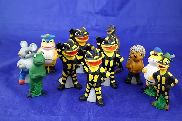 Salamander - Lurchi + Friends - 11 Figuren