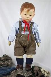 K�the Kruse, Puppe um 1920, 43 cm