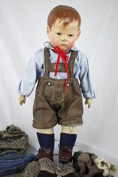 Käthe Kruse, Puppe um 1920, 43 cm