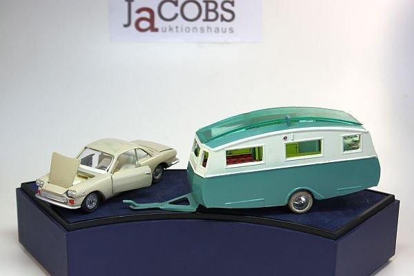 Fiat Siata ( USSR ) + C.I.J. Caravan Camping