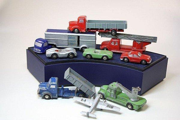 SCHUCO Piccolo - 9 alte Modelle