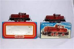 M�rklin - 2x 3065 Diesellokomotive im OK