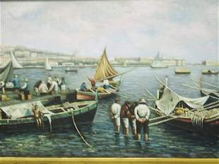 OIL ON CANVAS PAINTING VENICE