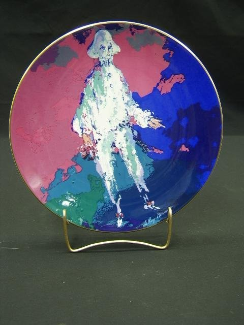 612: COLLECTOR PLATE- ROYAL DOULTON BY LEROY NEIMAN