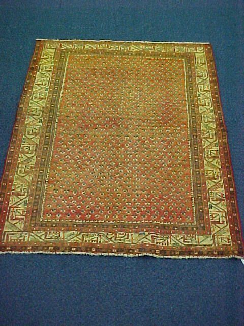 144: 4'5 X 6'8 PERSIAN SARABAND HANDTIED EXCELLENT COND