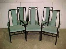 1205 FINE 10 PC DANISH MODERN WAL DINING ROOM SUITE