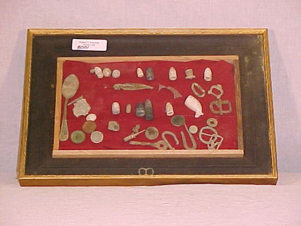 1019: COLLECTION OF CIVIL WAR ARTIFACTS