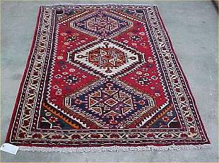 4'2 x 6'3 Antique Persian Condition Good