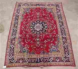 6'8 X 9'9 Antique Persian Mashad