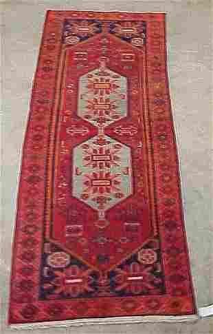 3'8 x 10' Antique Persian Serapy Conditi