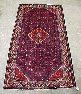 5'3 x 10'6 Antique Persian Serapy Condit