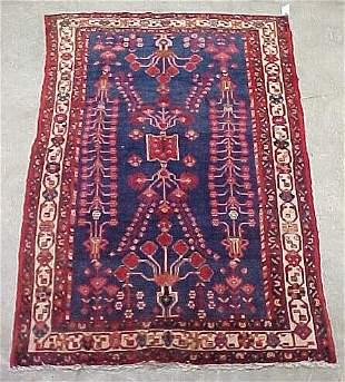 5'7 x 9' Antique Persian Serapy Conditio