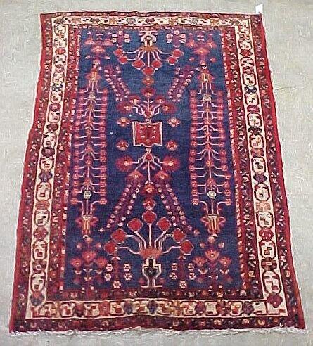 104: 5'7 x 9' Antique Persian Serapy Conditio