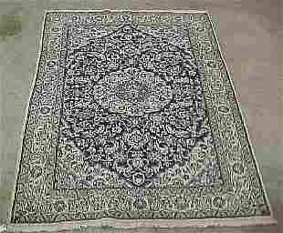 6'5 x 9'5 Persian Nain Beautiful White w