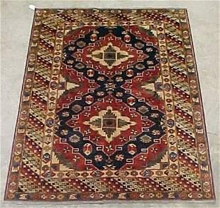 6'1 x 7'10 Pak Kazak Condition Good