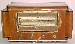"""French Radio. Measure: 14""""H, 26""""W, 14""""D"""