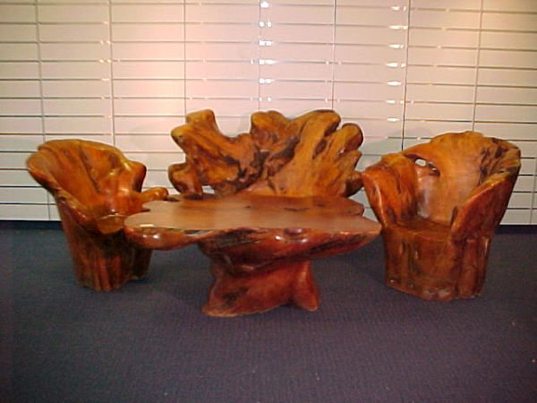 1014: 4 PC ROOT FURNITURE SET