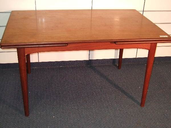3: DANISH MODERN TEAK DINING TABLE