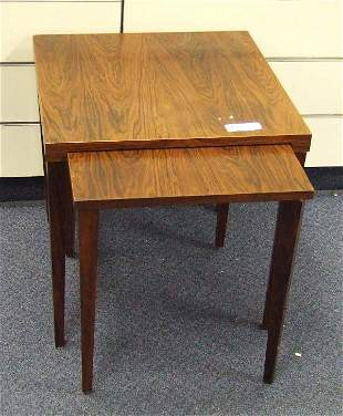 VINTAGE CLASSIC DANISH MODERN ROSEWOOD TABLES