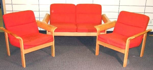7: VINTAGE CLASSIC DANISH MODERN LIVING ROOM SUITE