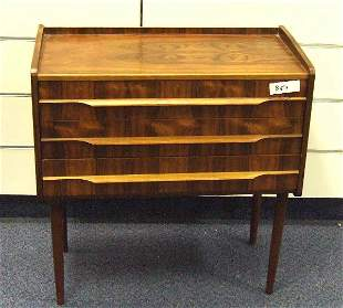 VINTAGE CLASSIC DANISH MODERN ROSEWOOD STAND