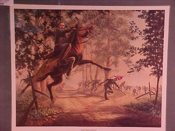 1316: CIVIL WAR PRINT ALBERT SYDNEY JOHNSON