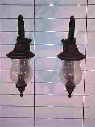 ENGLISH STYLE OUTSIDE CARRIAGE LAMPS