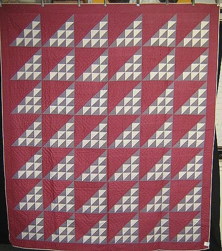 1813A: QUILT-GEESE IN FLIGHT
