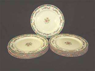 ROYAL DOULTON FLORAL PLATES