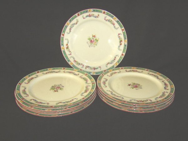 1100: ROYAL DOULTON FLORAL PLATES