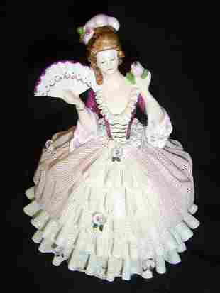 DRESDEN-LACE BALL GOWN FIGURE