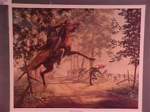 CIVIL WAR PRINT ALBERT SYDNEY JOHNSON