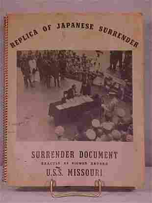 REPLICA OF THE JAPANESE SURRENDER DOCUMENTS