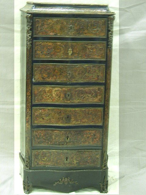 23: 19TH CENTURY FRENCH BOULLE ABATONT DESK