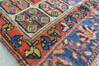 SIRJAN RARE  FLAT AND PILE WEAVE  PERSIAN RUG WR363-D
