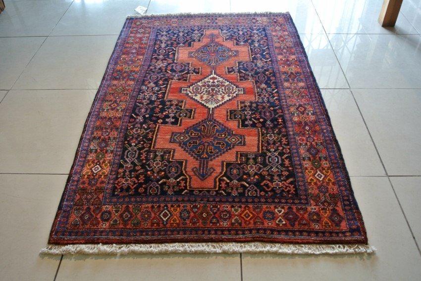 Senneh rug Persian carpet hand made virgin wool