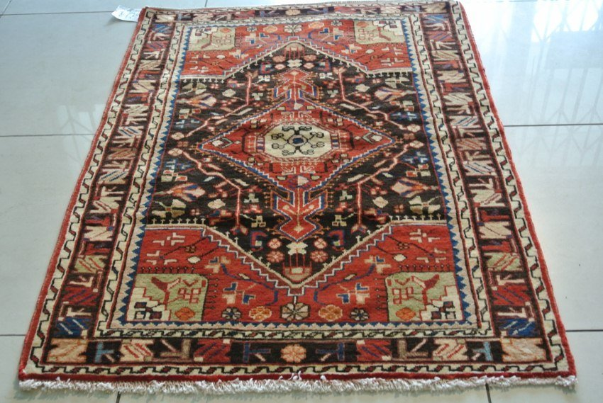 Malayer rug handmade original Persian carpet