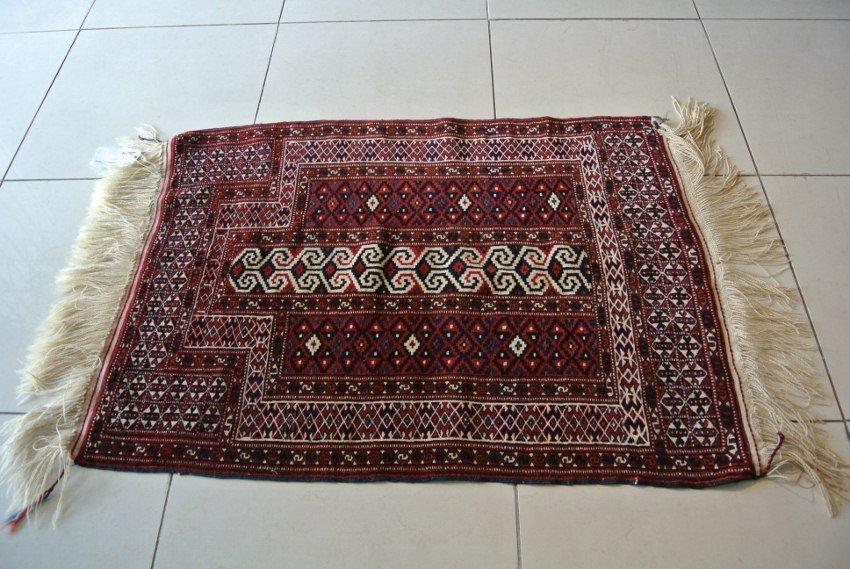 Turkmen rug Persian rug Original authenticPrayer rug